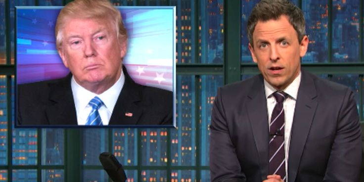 Seth Meyers Predicts What Donald Trump Will Say During His First Address To Congress