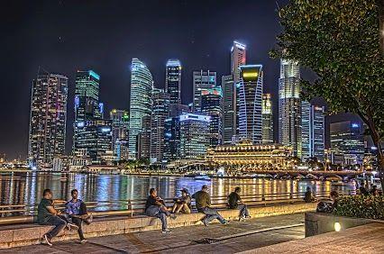 Financial District - Marina Bay Singapore #FinancialDistrict #MarinaBay #Singapore