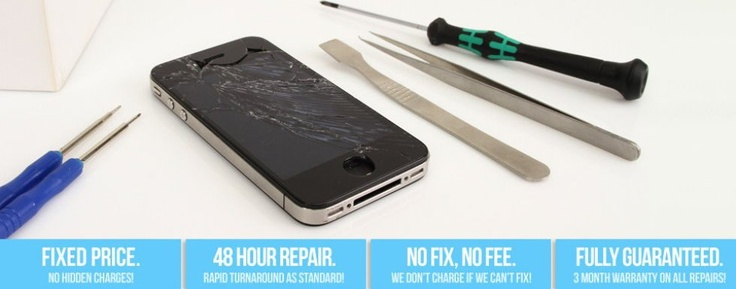 Smashed your iphone screen send it to instant iphone repair company for quick repair at excellent rates.