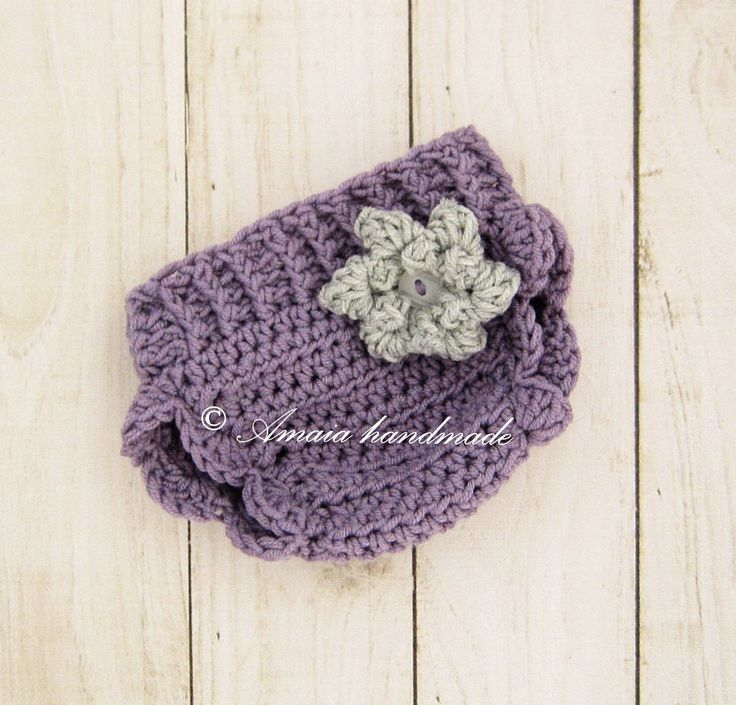 Crochet diaper cover - Baby girl diaper cover for Newborn to 12 Months, Merino wool, For every day use or for a photo prop! by Amaiahandmade on Etsy