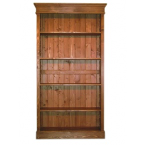 Portchester Pine Waxed Large Bookcase  www.easyfurn.co.uk