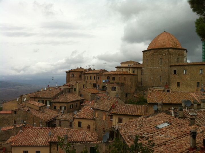 Volterra is a magic place. I love the drive from there to Siena across Toscana. It really is as close to heaven as I'll ever be.