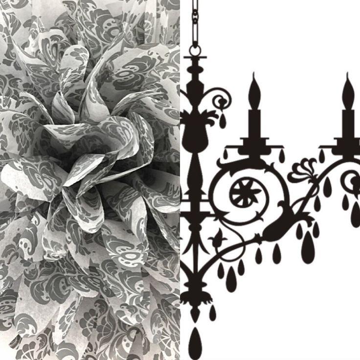 18 inch #Damask #tissue #Paper  #pompom / #party #Poms / #birthday #pompoms / #Damask #decoration / #baby #shower / #hangingpoms / #nursery / #TeaParty  #Etsy  https://www.etsy.com/listing/220916983/18-inch-damask-tissue-paper-pompom-party