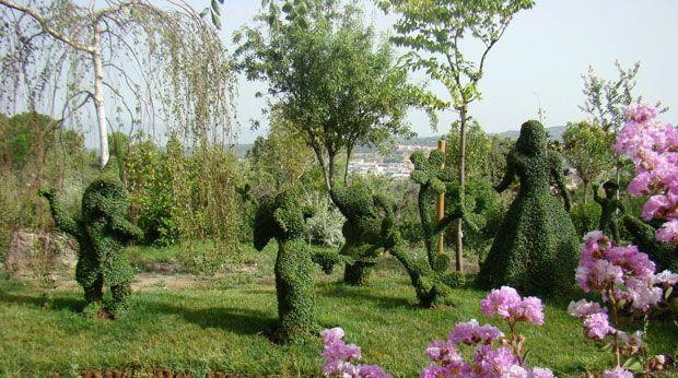 Jardín botánico y parque temático 'El Bosque Encantado' en Madrid