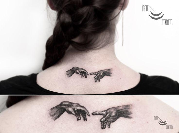 The Creation of Adam hand tattoo  8 cm @lacenano #thecreationofadam #michelangelo #tattoo #blackgrey #smalltattoo #minimal #minimalist #hand #handtattoo #tattooed #tattooedgirl #art #design #illustration #tattoomagazine #fashion #ink #inklife #inkmagazine #instatattoo #blackandgrey #blackandgreytattoo #backtattoo #inked #dövme #tattoodemirci