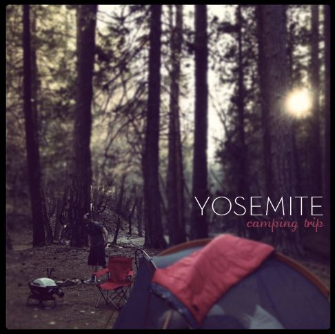 Yosemite camping...this time of year (October) is gorgeous!