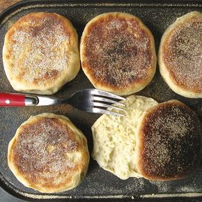 Why would you ever choose to make your own English muffins? Between Wolferman's, Bays, Thomas', and even some of the store brands, there are plenty of perfectly good English muffins out there, easy pickings for anyone with a few bucks. So why make your own? Well, there's a secret many of us know; and if …