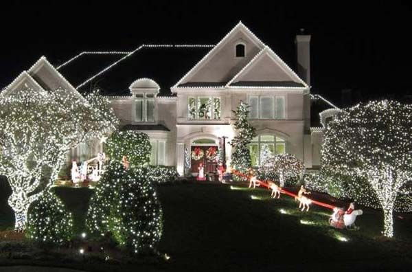 Top 46 Outdoor Christmas Lighting Ideas Illuminate The Holiday Spirit