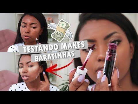 Maquiagem Completa Com Produtos Baratinhos Camila Nunes Sites De