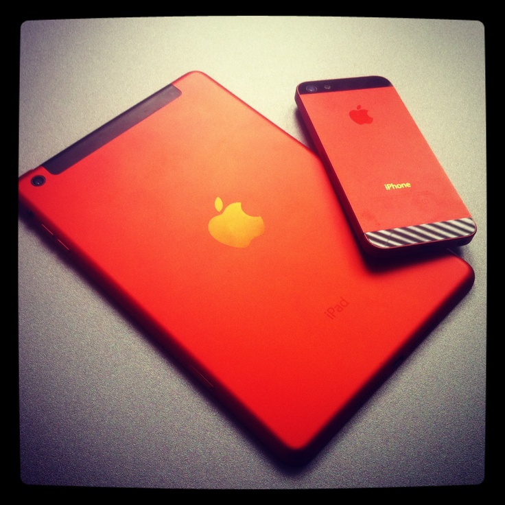 From prototypes to products - iPhone 5 & iPad mini en la Édition Orange - by our nsparkle.com