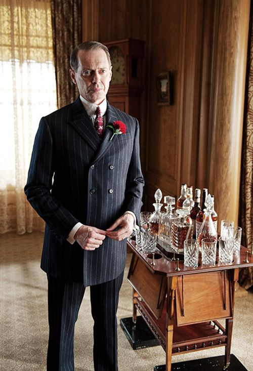 "Enoch Malachi ""Nucky"" Thompson is a fictional character and the protagonist of the HBO TV series Boardwalk Empire. Played by Steve Buscemi, Nucky is based on former Atlantic City political figure Enoch L. Johnson."