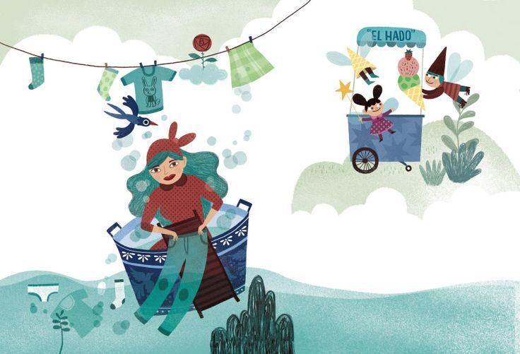 Lecturas ilustradas por Flavia Zorrilla Drago para 3� de Primaria (Grazalema).