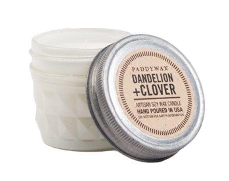 Paddywax Dandelion & Clover Mini Candle - Trouva