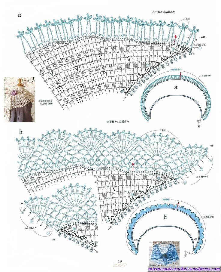Mejores 201 imágenes de crochet en Pinterest | Afganos de ganchillo ...
