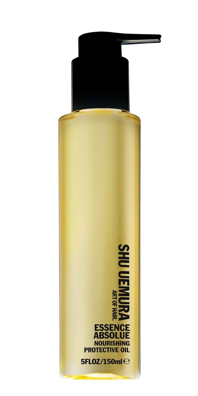 Shu Uemura Essence Absolue Nourishing Protective Oil Olie Alle Haartypen 150ml  Description: Shu Uemura Essence Absolue Nourishing Protective Oil. Voedende en beschermende verzorger met camelia olie. Beschermt het haar tegen uitdrogen pluizen UV-stralen en geeft een intensieve voeding. Gebruik: 1à 2 pompjes aanbrengen over de lengten en punten op droog gekleurd beschadigd haar of preventief op normaal haar. Te gebruiken voor de shampoo of als leave-in verzorging.  Price: 54.00  Meer…