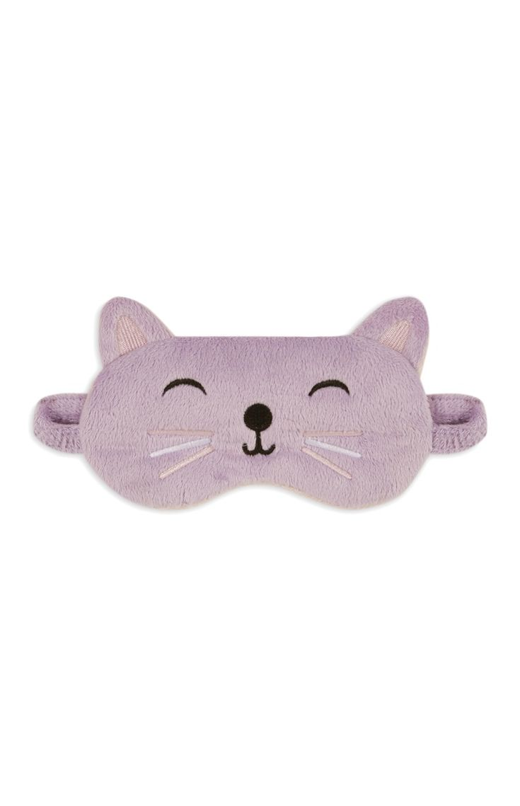 Diy party costume mask black cat kitten template printable - Primark Gabriella Cat Eye Mask