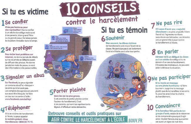Bevorzugt www.agircontreleharcelementalecole.gouv.fr | contre l'harcelement  KS11