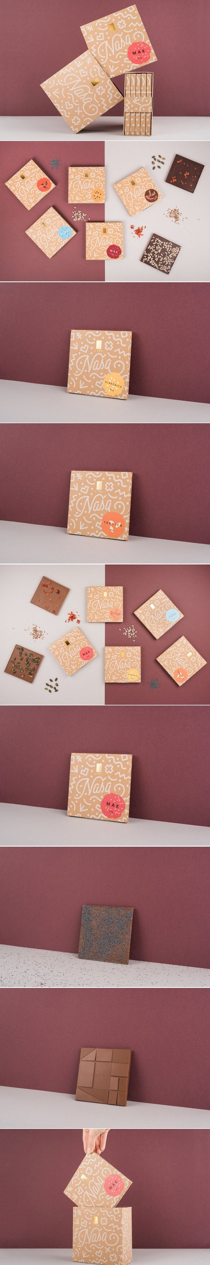 NAŠA is a Chocolate That Aims To Represent Slovakia Through Graphics — The Dieline   Packaging & Branding Design & Innovation News