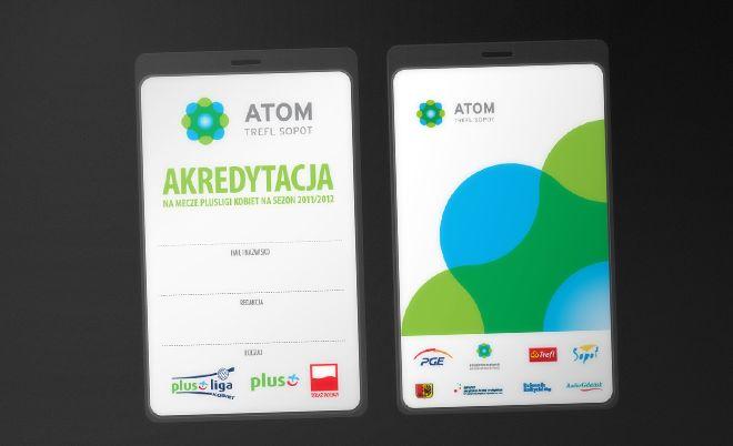 Atom Trefl Sopot: Corporate identity - Jamel Interactive interactive agency Gdansk, Tricity