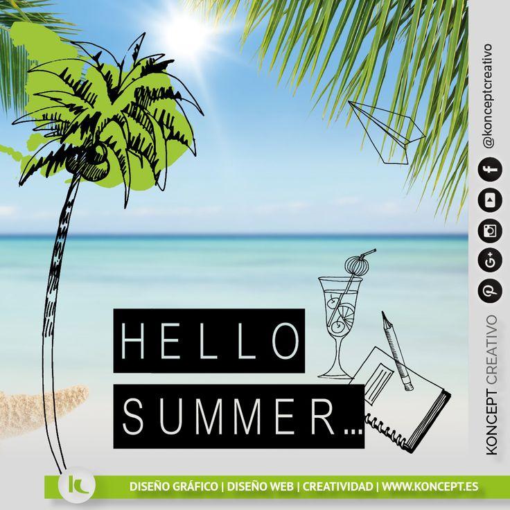 El verano ya está aquí, el verano ya llegó. Queda inaugurado el verano para tod@s con días soleados y noches estrelladas. Queda totalmente prohibido no disfrutarlo 😊🌞🏊🌄🌘 http://www.koncept.es #verano #summer #calor  #sol #sun #disfrutando  #happysummer #felizverano #empresa #autonomo #diseñograficobarcelona #diseñoweb #diseñografico #graphicdesigner #graphicdesign #barcelona  #estiu #caloret