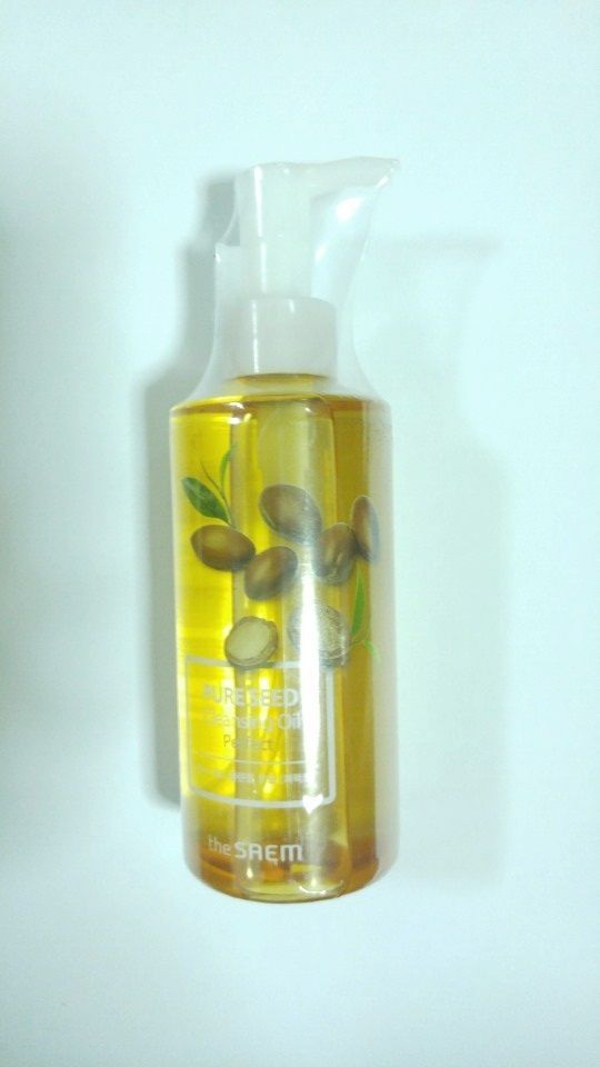 Korea Cosmetic the SAEM Pure Seed Cleansing Oil Perfect 200ml #theSAEM