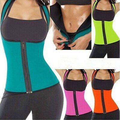 New Women Neoprene Shapewear Push Up Vest Waist Trainer Tummy Belly Girdle Hot Body Shaper Waist Cincher Corset