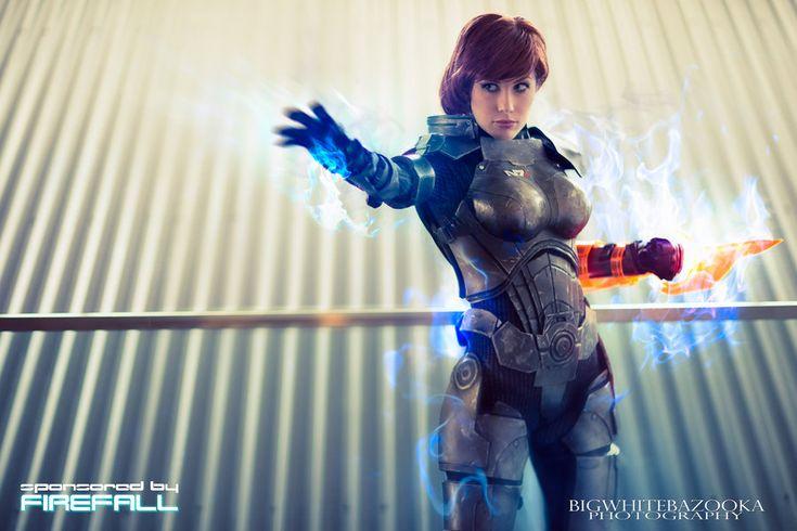 Commander Shepard IV - Biotic God by *crystalcosfx on deviantART