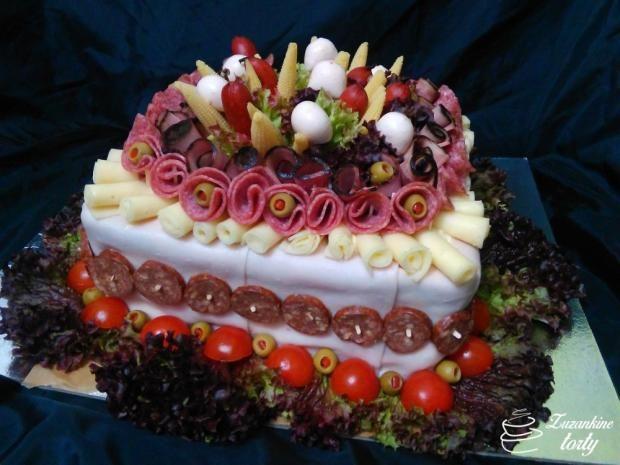 Slaná torta. Autorka: suzih. Tortyodmamy.sk