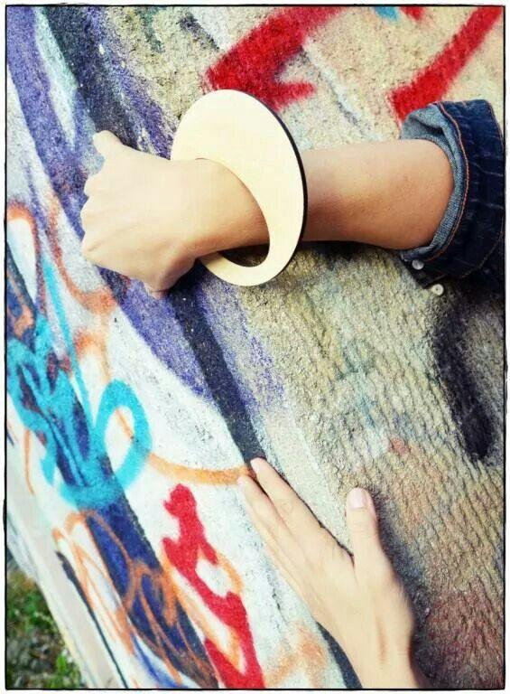 Ursha unique wooden bangle. Www.facebook.com/urshastylenow