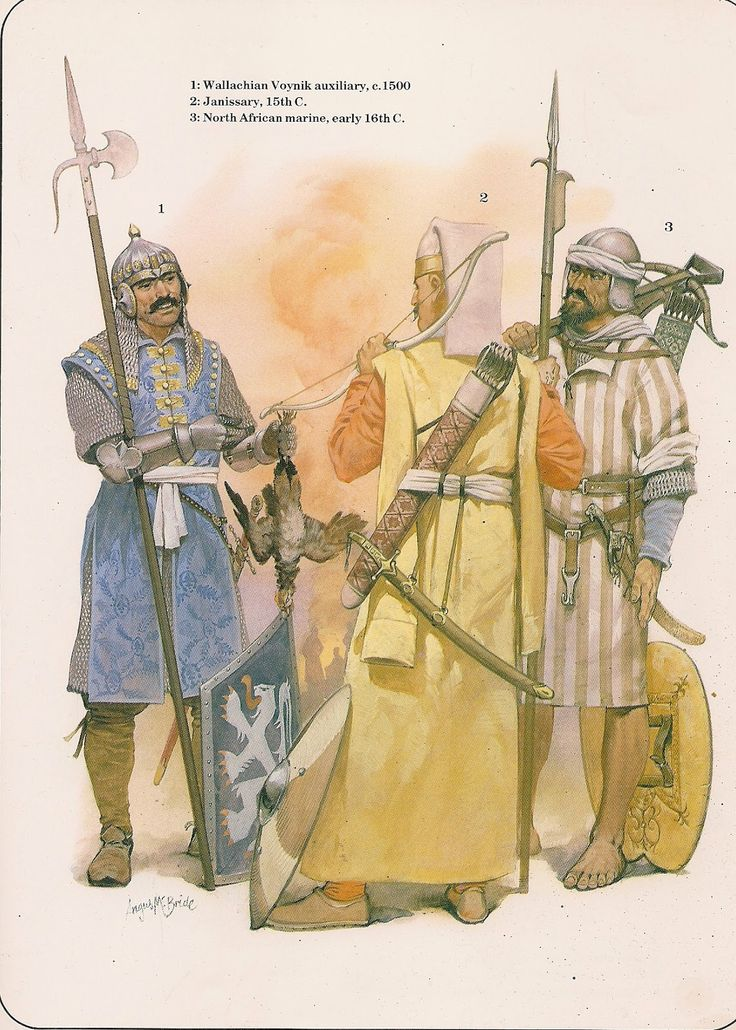 14th-15th century troops by McBride