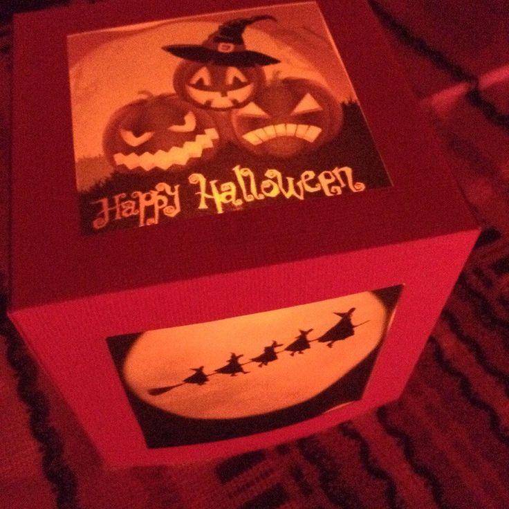 "тематический фонарик Oolamp ""This is Halloween""  #paper #lantern #handcraft #handmade #gift #halloween"