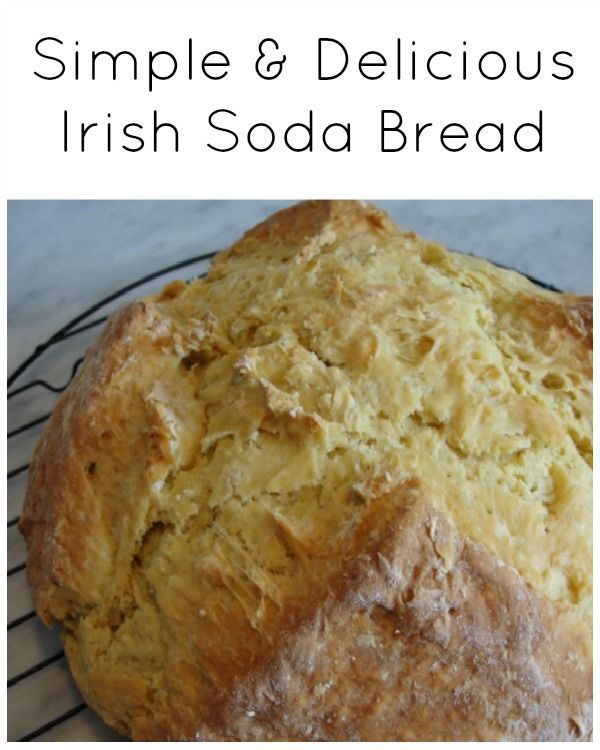Simple and Delicious Irish Soda Bread - A quick and easy recipe that is sure to be a family favourite. We make this bread every holiday...it is the number one recipe our friends and family request. Perfect for dipping in soups and stews. Quick breads don't require any yeast...so they are super easy and fast to make and bake.   Quick Bread Recipe   Bread Recipe  