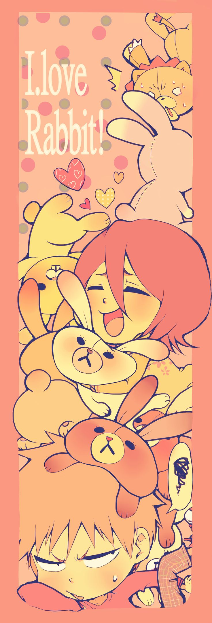 BLEACH | anime | fanart | ichigo kurosaki, rukia kuchiki, kon
