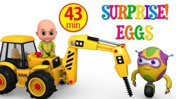 Surprise Eggs | Construction Truck Toys for Kids - Driller Crane | Surprise Eggs Toy from Jugnu Kids http://video-kid.com/20769-surprise-eggs-construction-truck-toys-for-kids-driller-crane-surprise-eggs-toy-from-jugnu-kids.html  Construction Truck -  Crane Driller Truck  -  Kids love Construction Truck Toys and construction vehicles... Hey kids .. We have some more new surprise for you. This time its a Construction Truck Toy video. It doesn't have to be big as long as it has a word…
