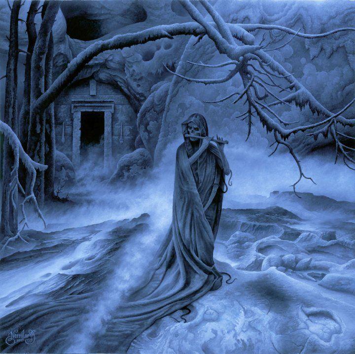 "hourglassofblacktears: "" Kristian ""Necrolord"" Wahlin >> Fallen Angel's Dominion. """