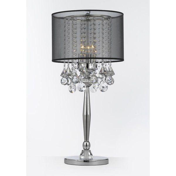 Largent 29 Table Lamp Crystal Table Lamps Table Lamp Lamp