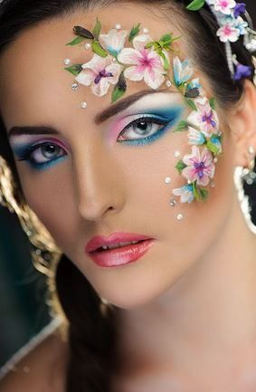 Maquillaje-floral