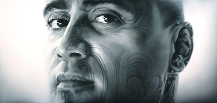 Tiki Taane Artwork   Sofia Minson Oil Painting   New Zealand Artwork