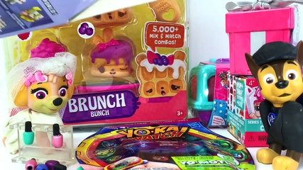Paw Patrol Blind Bag Chase and Skye Wedding Surprise Num Noms Shopkins Season 1 2 3 4 rare | موفيز هوم  Blind Bag Bonanza Madness. Best Paw Patrol video. Skye and Chase will open their wedding presents Shopkins Series 1 2 3 4 5 My Mini Mixie Qs Num Noms Lights Glitter Brunch Bunch Frezie Pops Pizza Party Sushi Box Choco Beryy Waffles Yo Kai Watch medals Series 1 2 3 Gift ems Rare Puppy in my pocket Ultra cute My World blind Bag blind Box Mine craft Blind Box Gummy Nums Freezie pop snow cone…