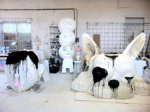Frank van Reenen - NIROXprojects via 10and5. Artists on tumblr