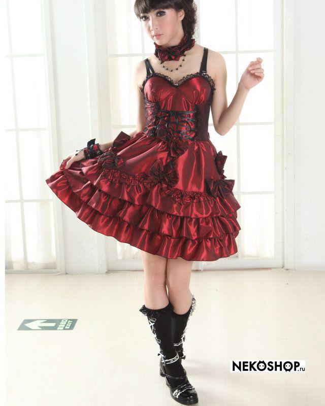 Пышное готическое платье  Afrodita