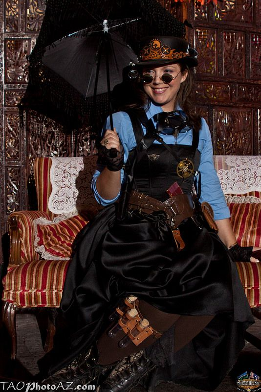 Steampunk complete with parasol  20140309-_MG_3047