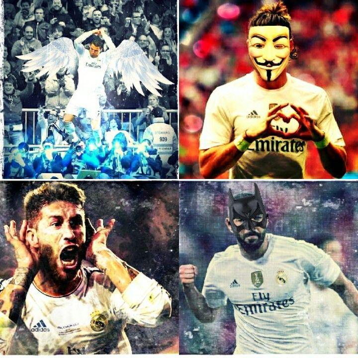 Real madrid  Sergio ramos  Cristiano ronaldo  Benzema  Bale
