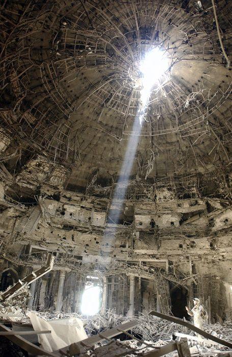 oculus. iraq. mosque..