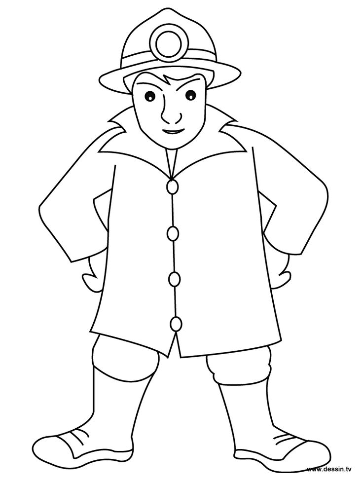 firemen coloring pages - photo#11