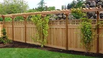 Backyard Fence Ideas - Bing Images