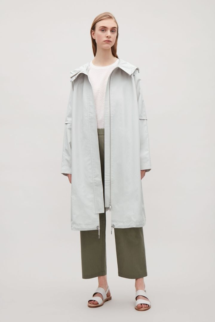COS | Oversized cotton parka
