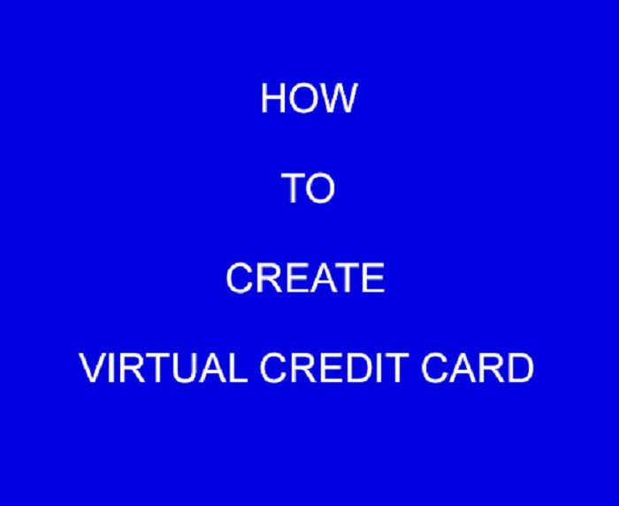 how to use virtual cards