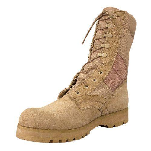 Mens Boots - GI Type Sierra Sole, Desert Tan by Rothco - http://authenticboots.com/mens-boots-gi-type-sierra-sole-desert-tan-by-rothco/