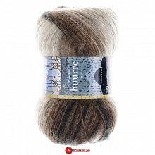 Пряжа Новита Хуурре (Novita Huurre) №612838 коричневый меланж